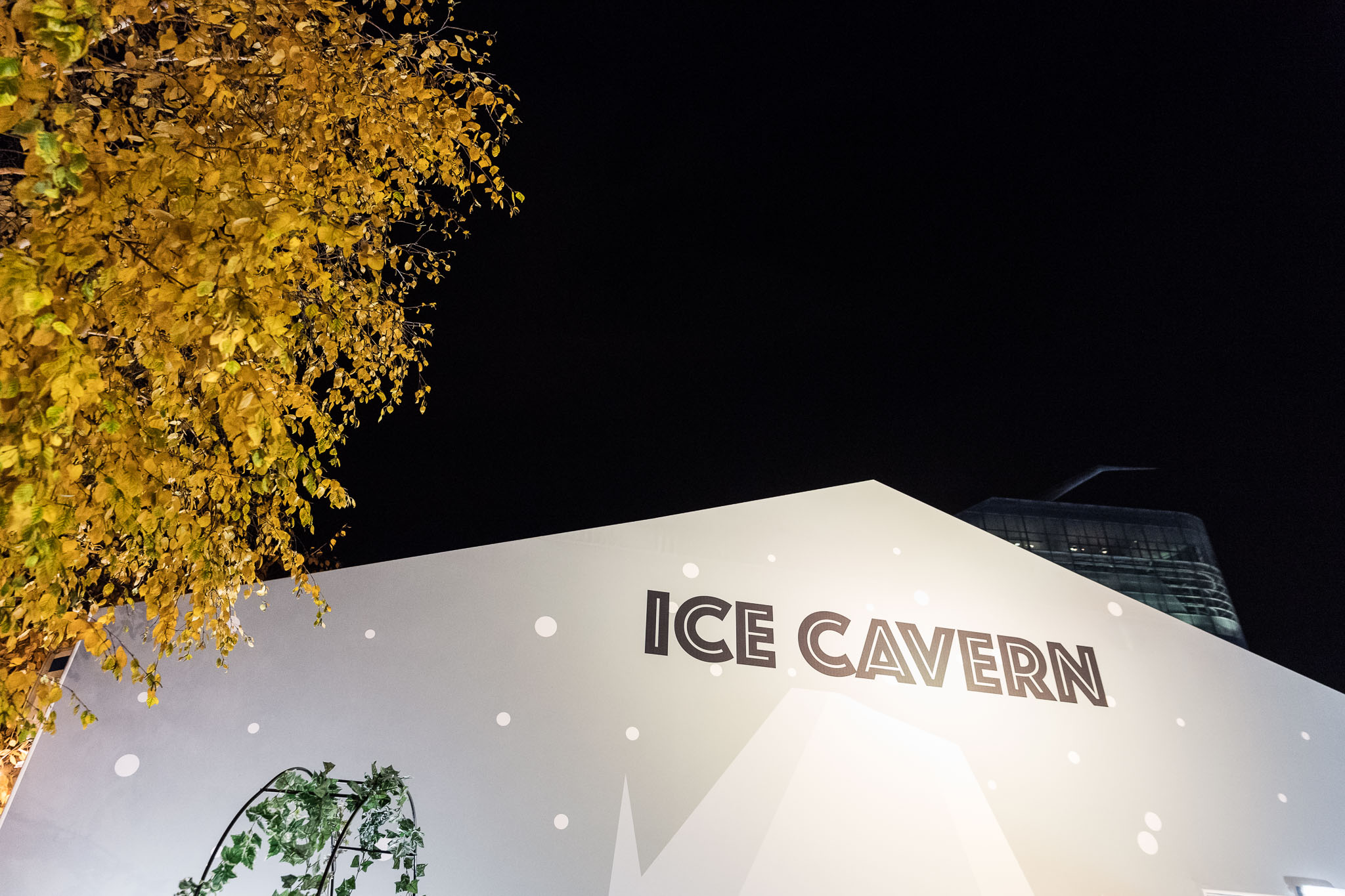 Ice Cavern exterior