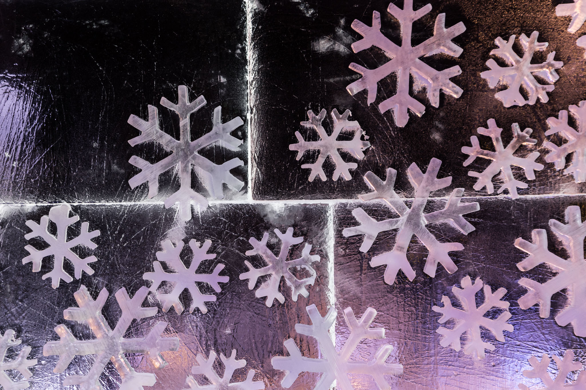 Ice Cavern snowflakes